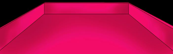 Bandeja rosa de São Valentim