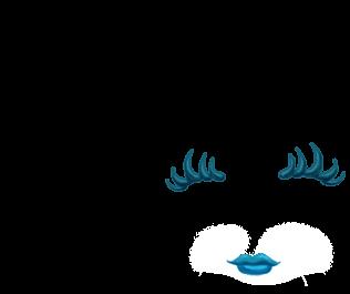 Adote um Furão Azul pastel