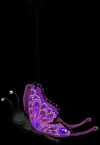 Papillon peluche