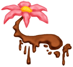 Flor flutuante