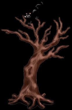Árvore torcida de Halloween