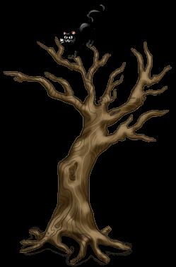 Árvore torcida de Halloween 2018