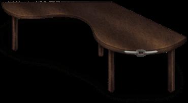 Table Etrange Laboratoire Sombre