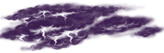 Céu nublado viking