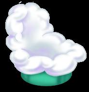 Cadeira de nuvem