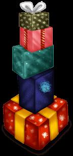 Pilha de presentes