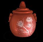 Pot en terre fleur
