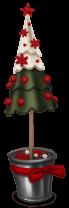 Árvore de natal do mercado do Natal