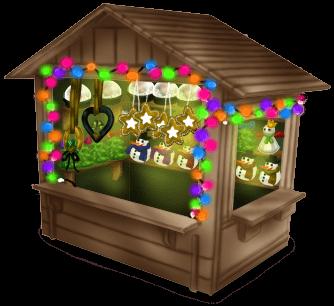 Cabana de mercado de Natal