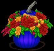 Vaso de flores do Dia das Bruxas