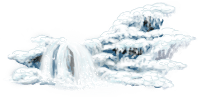 Cascade Patineuse