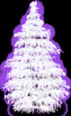 Árvore nevado nevado