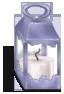 Lanterna 2 Ambiente Romântico