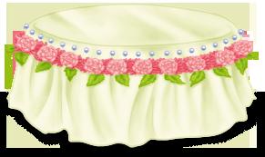 Mesa de café do bolo de casamento