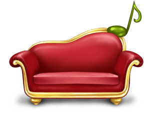 Sofá gaga