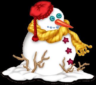 Bonhomme de Neige Noël 2014