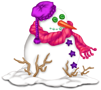 Natal do boneco de neve