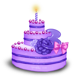 Gâteau 3 ans