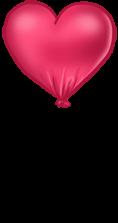 Balão do dia dos namorados