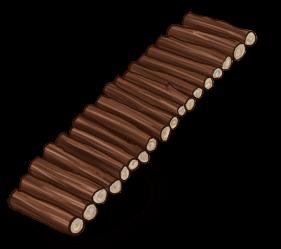 Echelle en bois