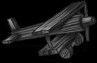 Avião de madeira