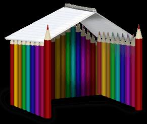 Cabana de lápis