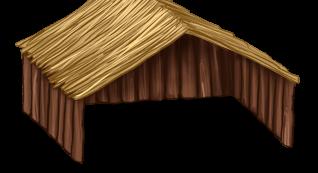 Casinha de madeira grande