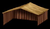 Maisonette de madeira
