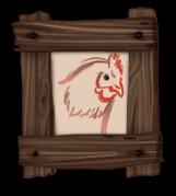 Moldura de galinha