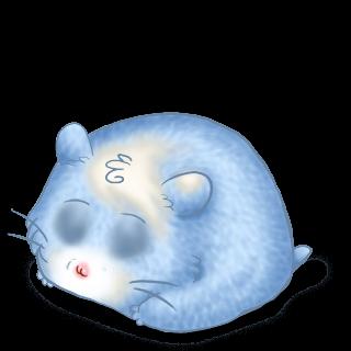Criceto Azul pastel