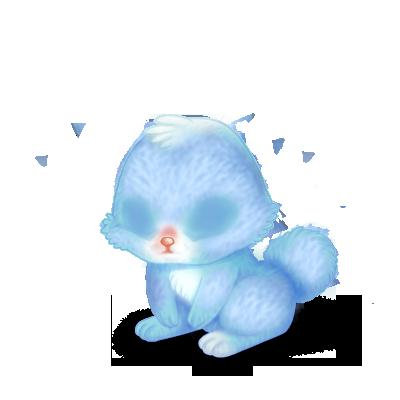 coelho Bleu Pastel