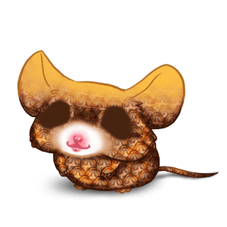 Mouse Ananas
