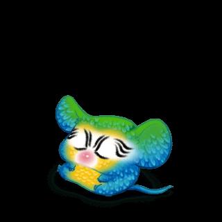 Adote um Mouse Arara azul