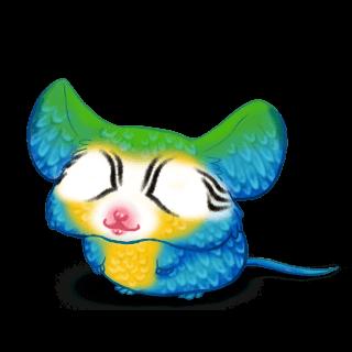 Mouse Ara Bleu