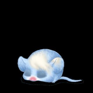 Mouse Bleu Pastel