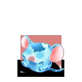 Adote um Mouse Azul leopardo