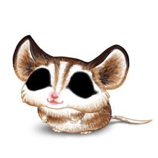 Mouse Husky Brown