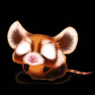 Mouse Panda Roux
